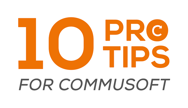 10 pro tips for Commusoft
