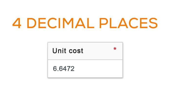 4 decimal places