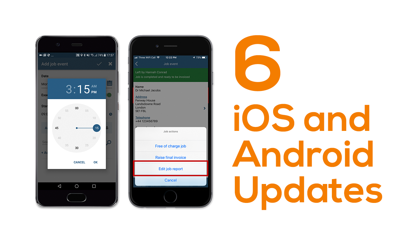 6 mobile updates for iOS and Android
