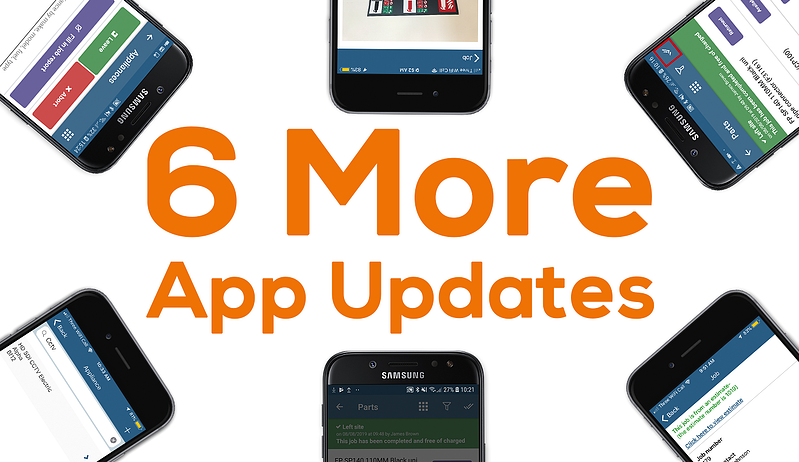 6 more Commusoft app updates
