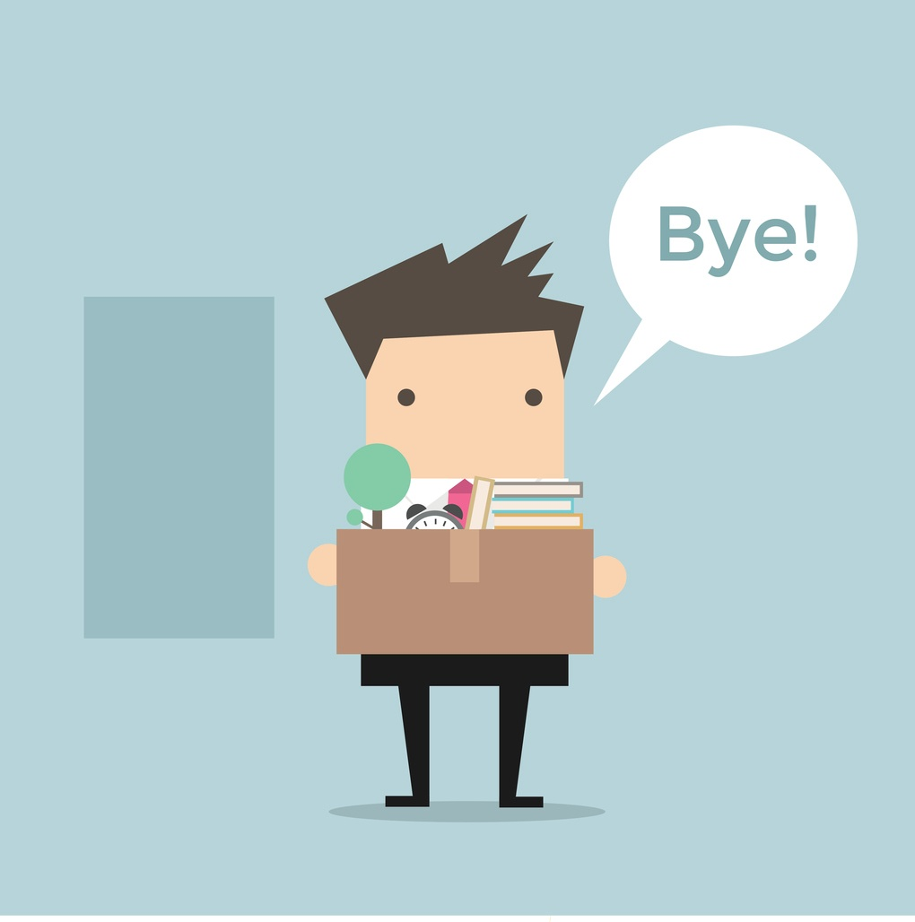 employee leaving