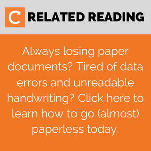 How to digitalise your field service business & go paperless - more reading