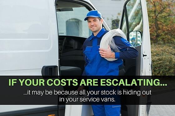 Ia all your stock in your field service vans?