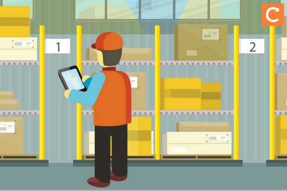 How to organize your stockroom or warehouse - for field service businesses