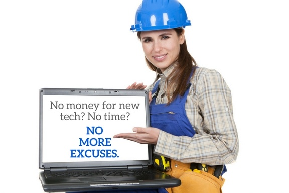 Engineer asking why you're not investing in new technology for your field service business