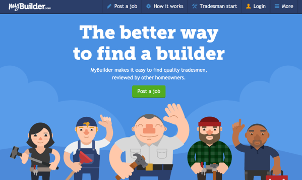 my builder review website for plumbing and heating company