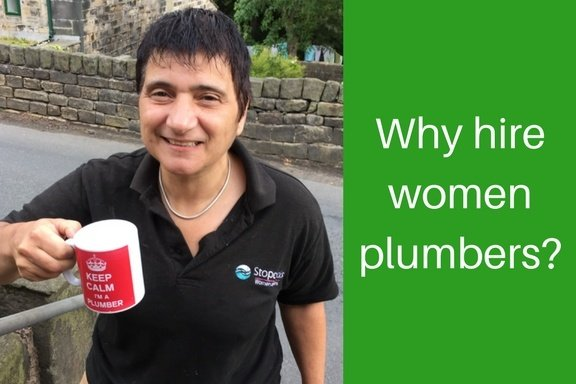 Why hire women plumbers? An interview with Hattie Hasan of Stopcocks Women Plumbers.