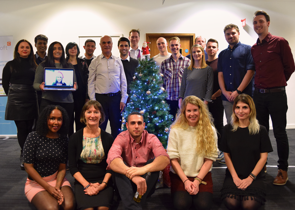 The Commusoft team at Christmas