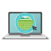 Booking Portal graphic