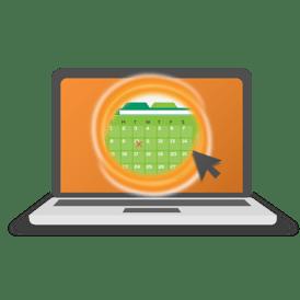 Booking Portal graphics-orange