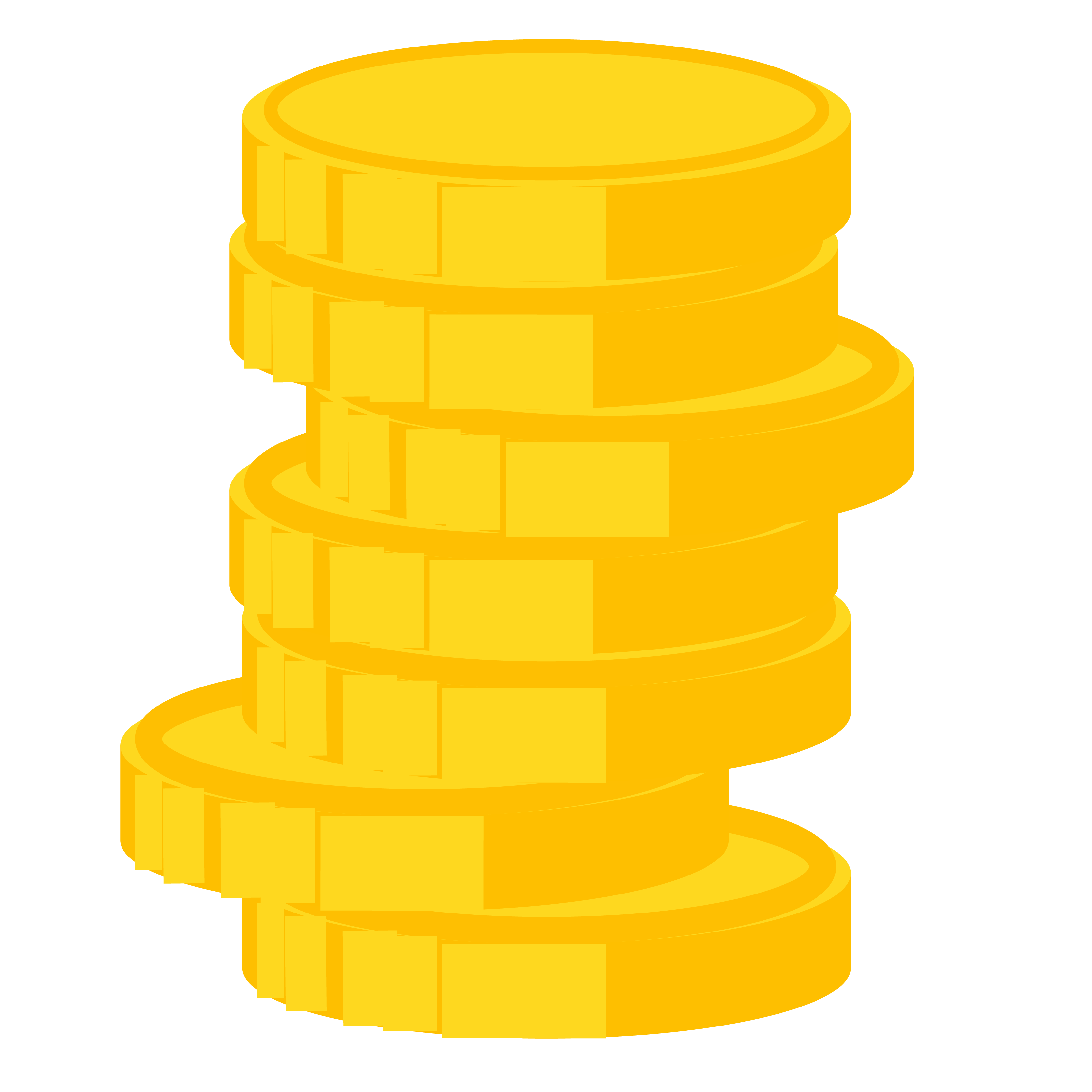 coins or cash stacked on top, price your job appropriately