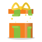 present with the lid off - customer loyalty gift ideas