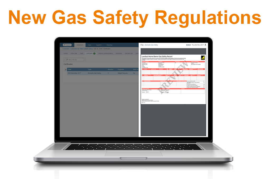 New gas safety regulations