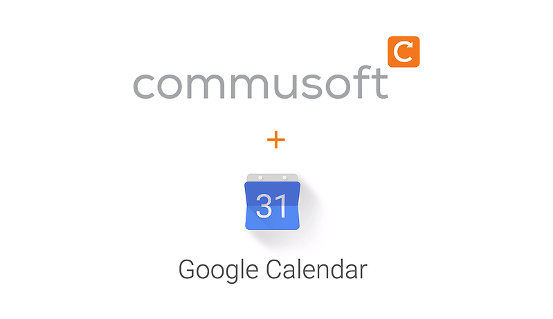 Commusoft integrates with Google Calendar