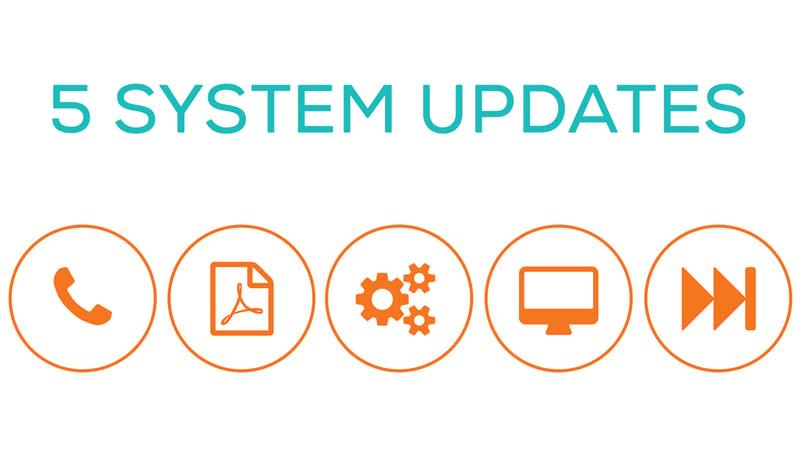 5 system updates