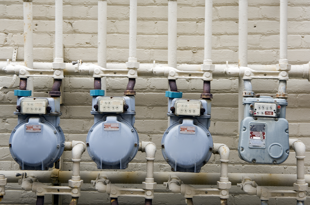 Commercial gas meters