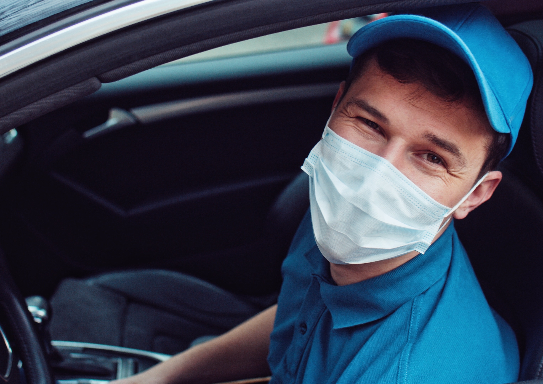 masked engineer providing customer service like a pro