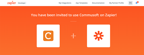 Zapier integration is invitation only