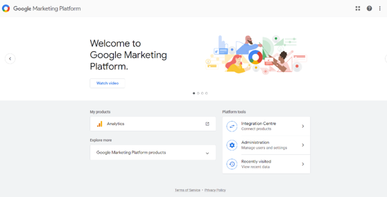 google analytics homepage is a free online tool for plumbing and heating business