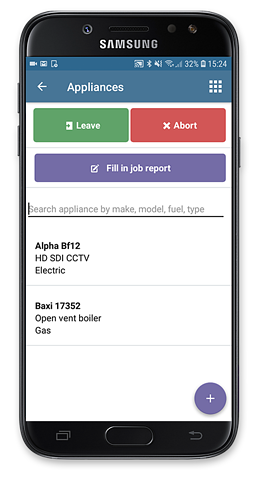 android search appliances