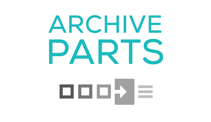 Archive parts for Commusoft parts management