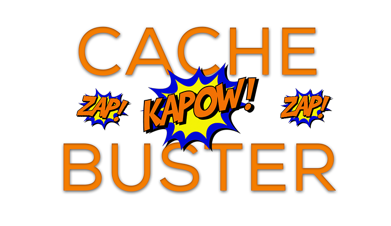 cache buster