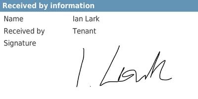 certificate signature
