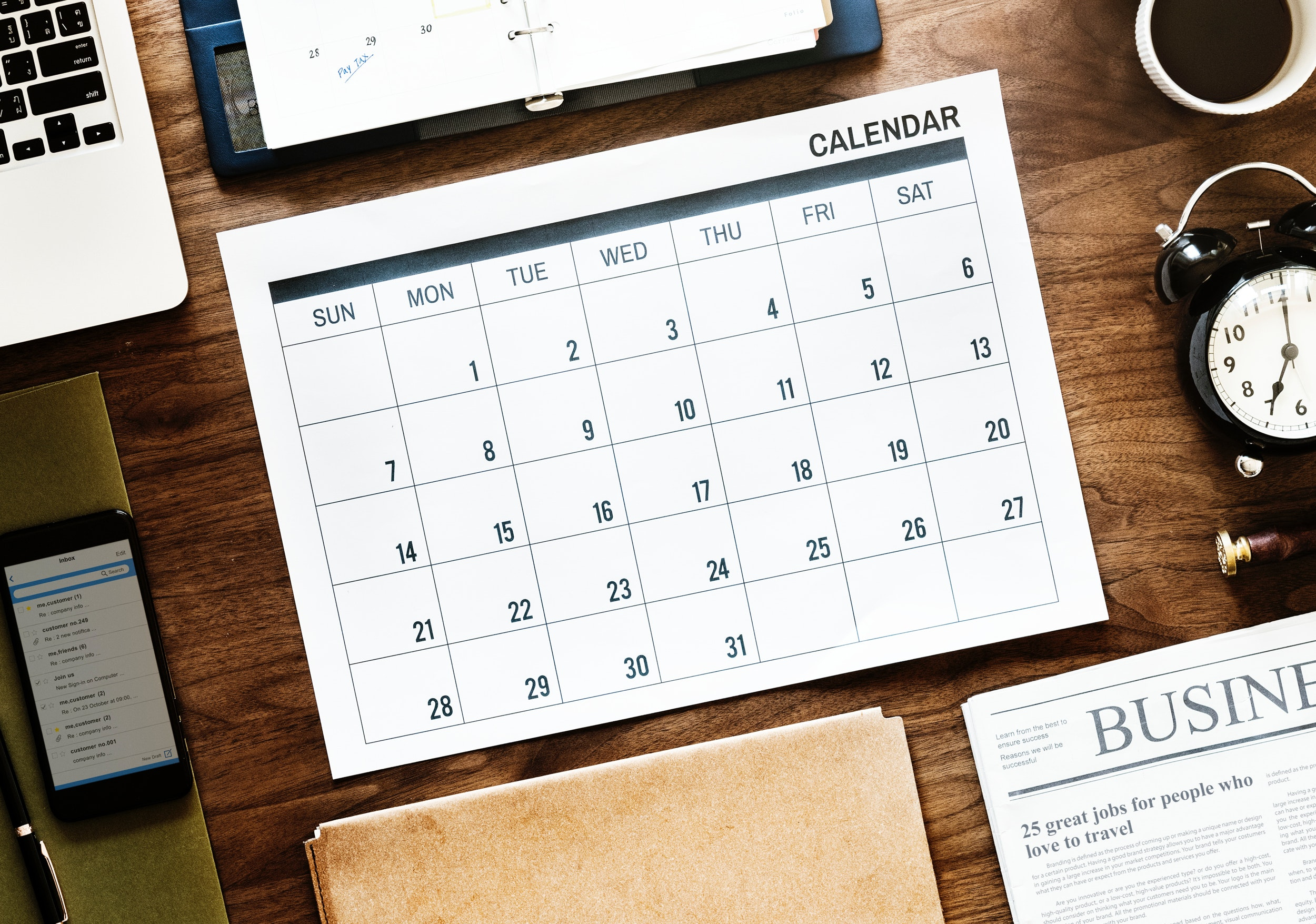 engineer diary for field service management business
