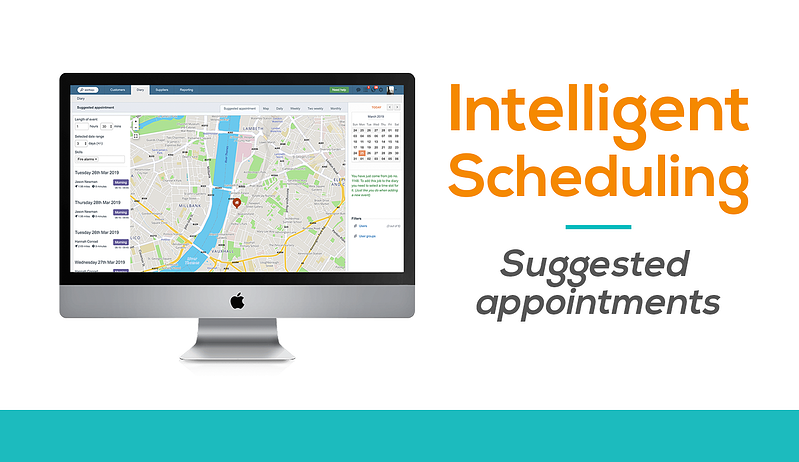 Intelligent scheduling software for field service businesses