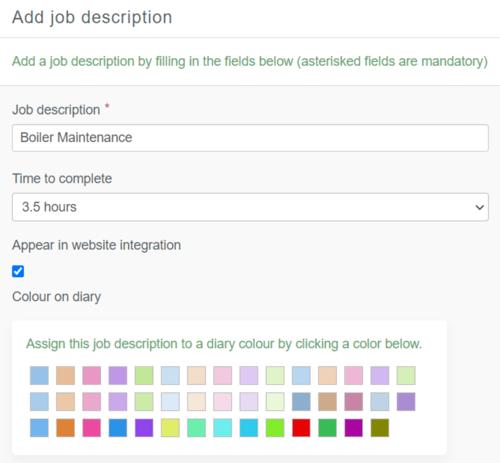 job description 2