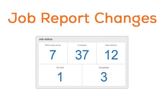 job updates header