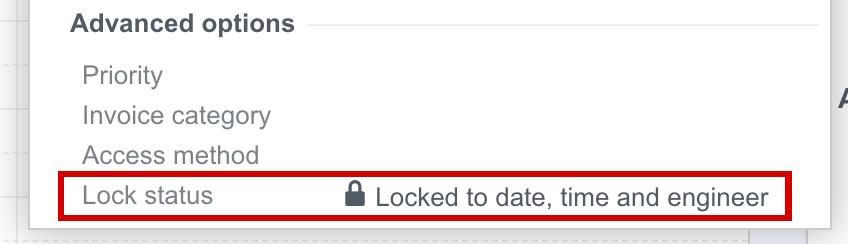 lock status event details