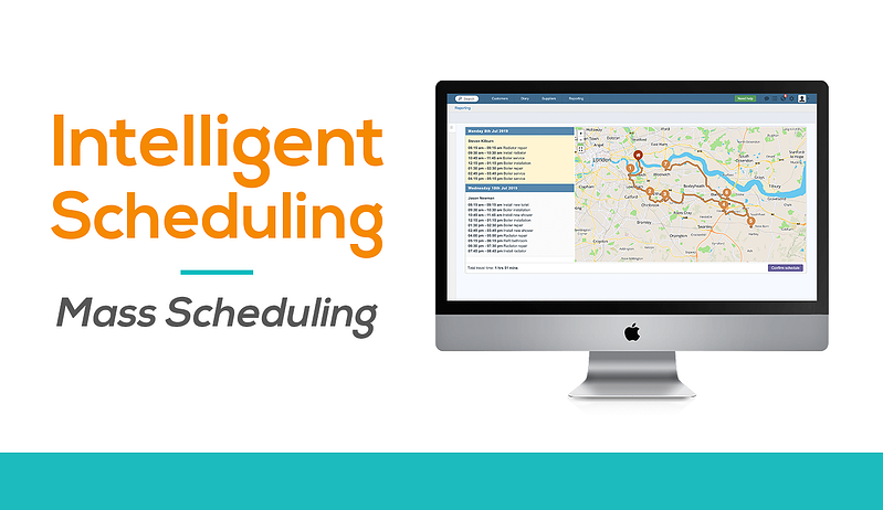 Intelligent mass scheduling