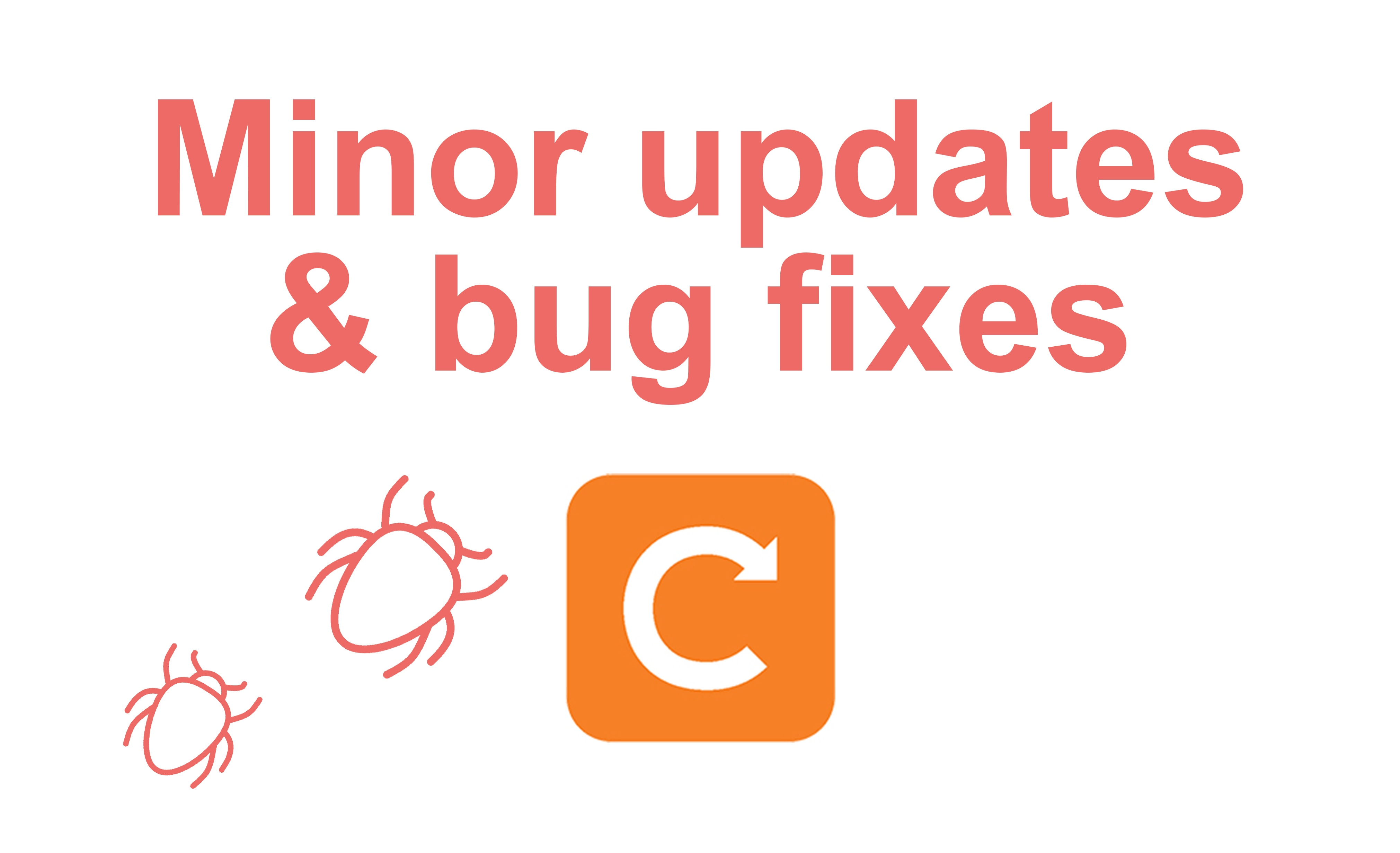 minor updates and bug fixes