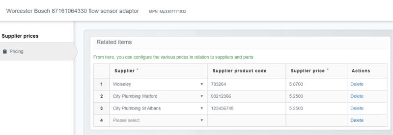 part suppliers spc