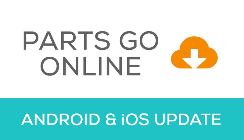 Mobile update - parts go online