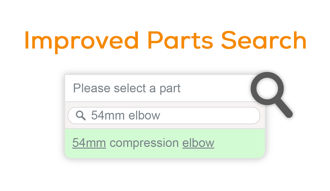 Betere ways to search for parts