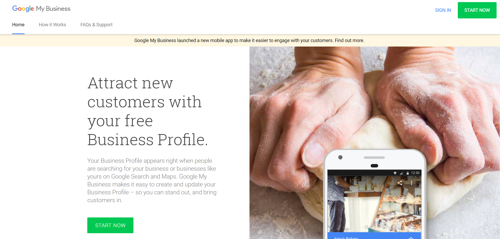 google my business review website for plumbing and heating company