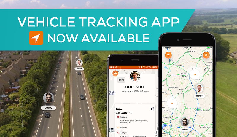 Track vehicles from anywhere with the new Commusoft tracking app