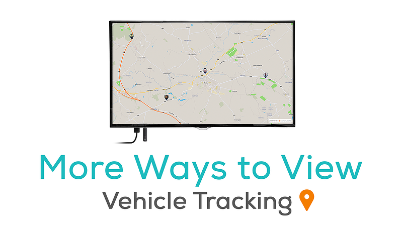 More ways to view vehicle tracking