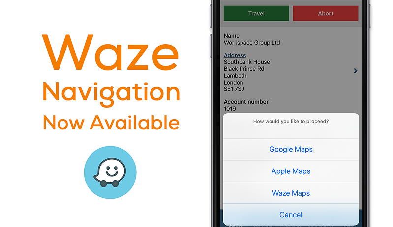 Navigate with Waze direct to your customers