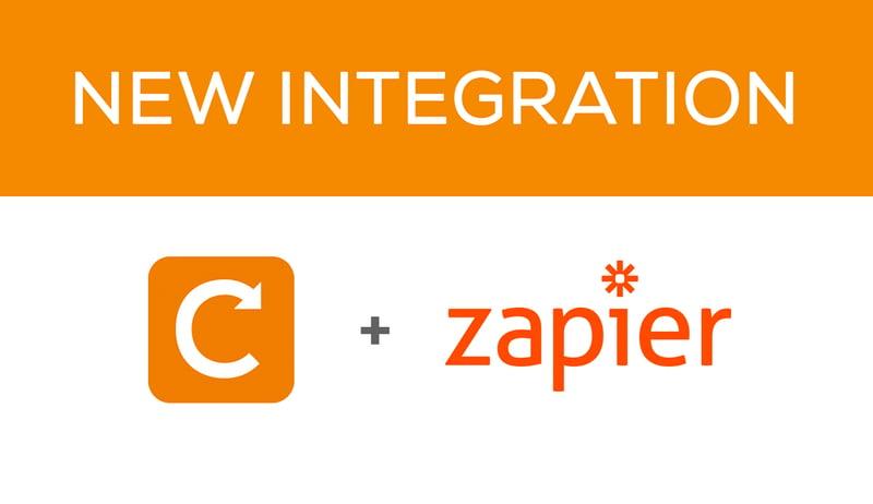 Zapier integration now available