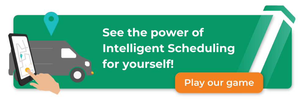 Try Commusoft's intelligent scheduling game