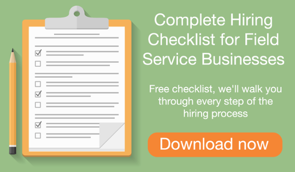 Download hiring process checklist