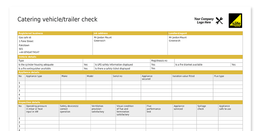 Catering Vehicle_Trailer Check