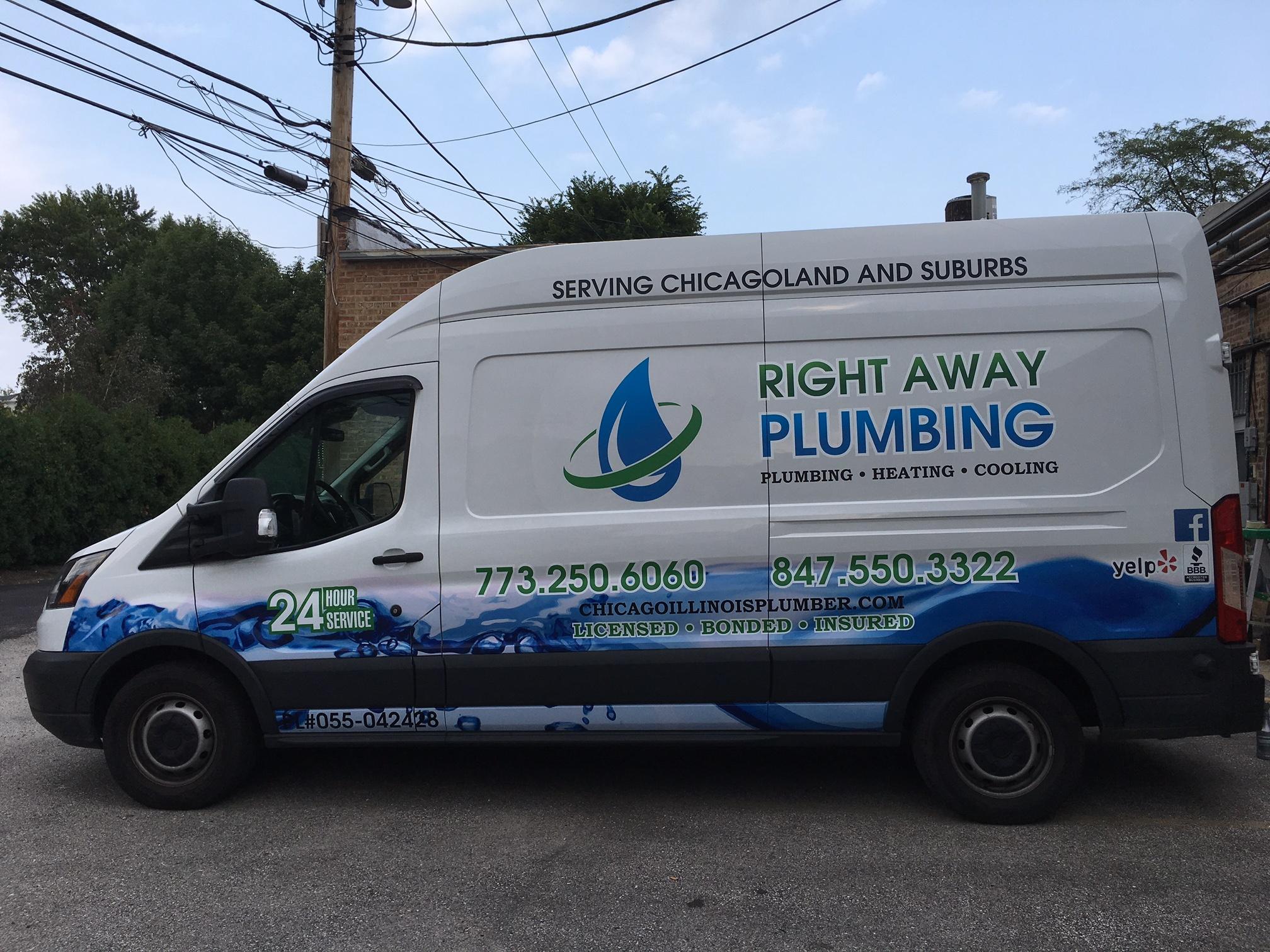 FastSigns Plumbing Van