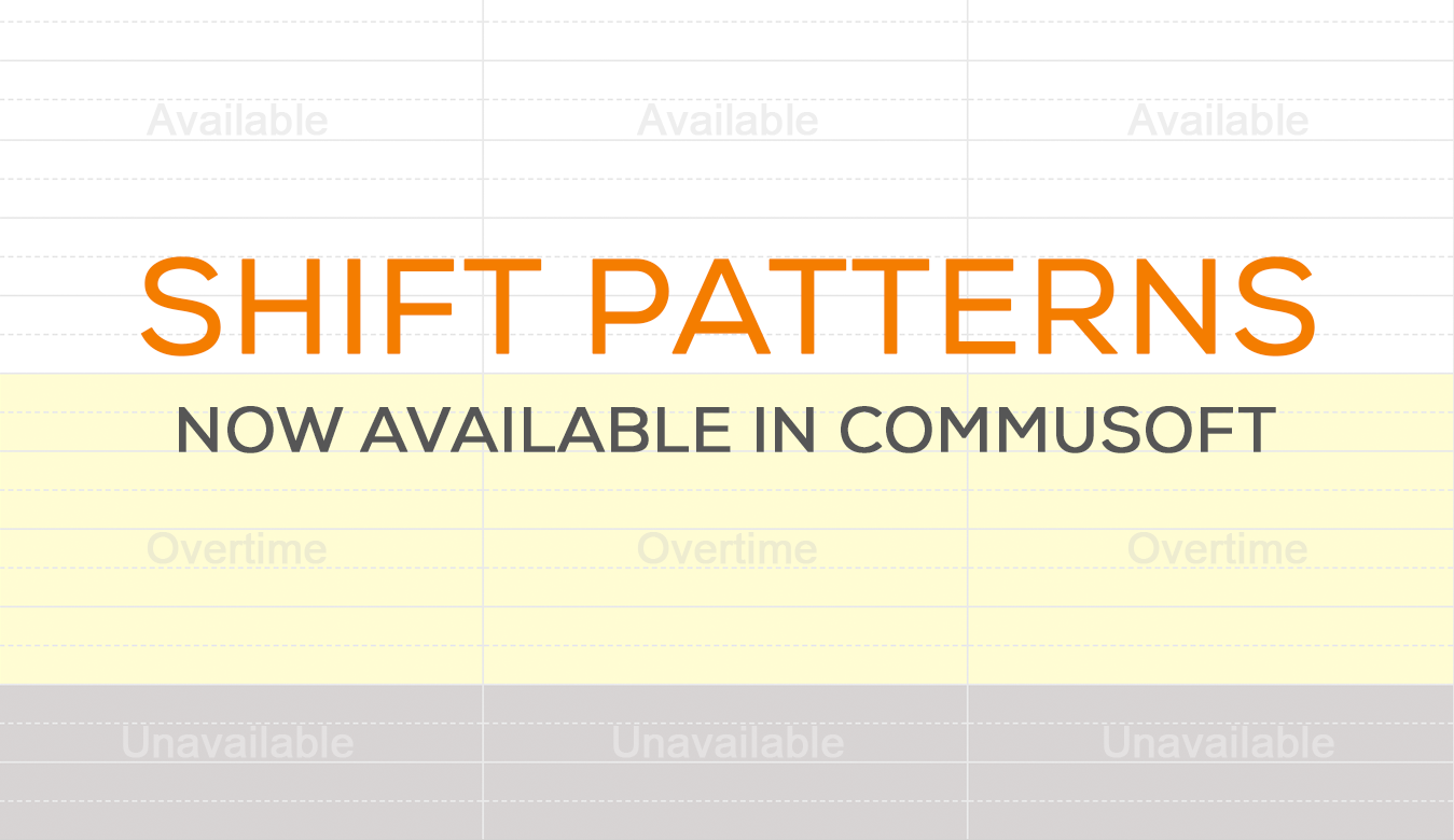 Improve scheduling and job costing with new engineer shift patterns