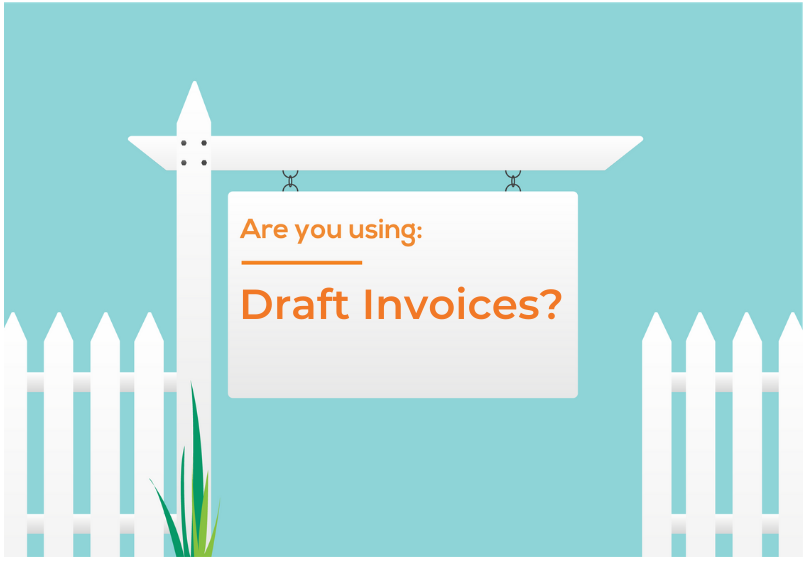 Are you using: Draft Invoices?