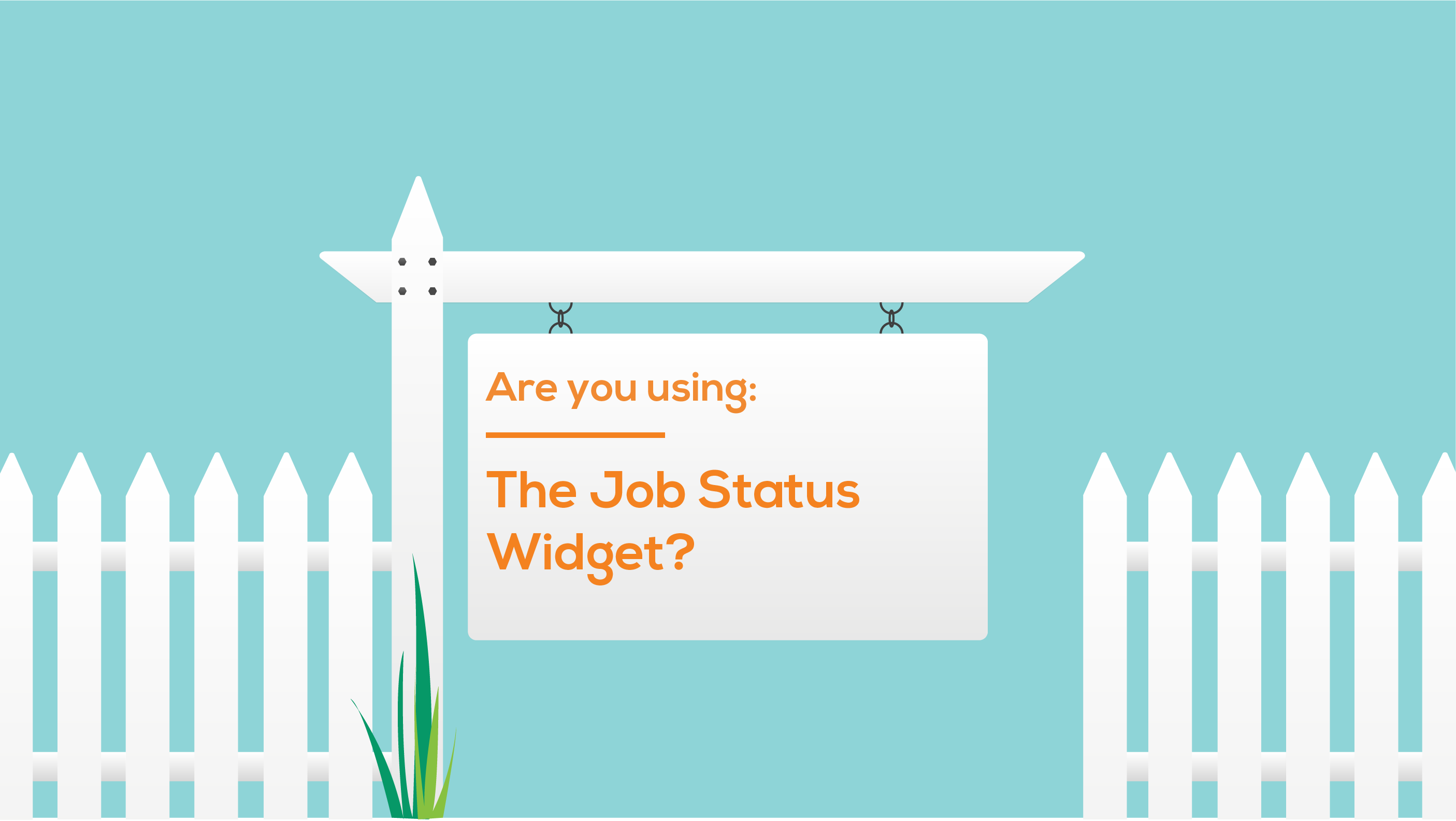 Are you using: The 'Job Status' Widget?