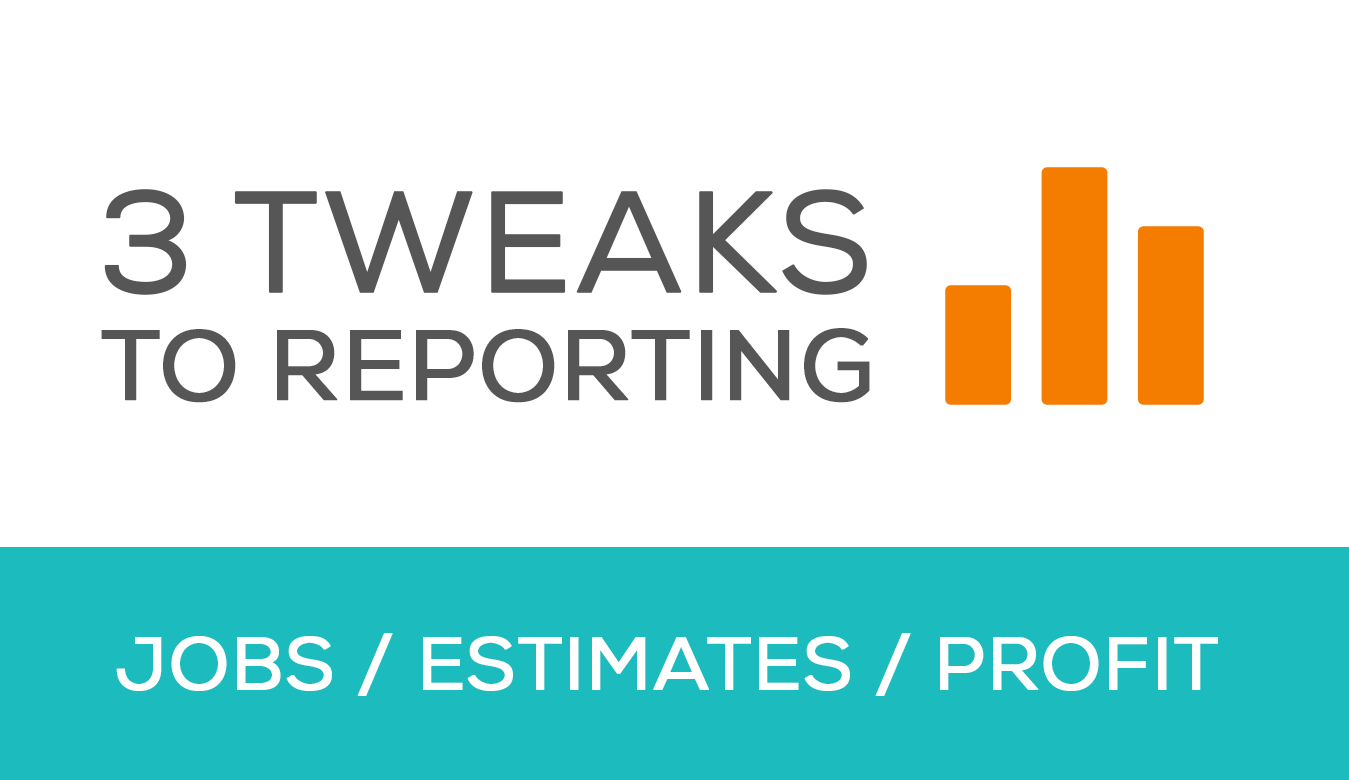 3 Tweaks to Reporting